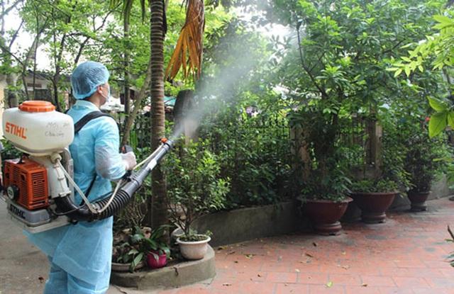 Phun muỗi tại nhà ở Vĩnh Phúc