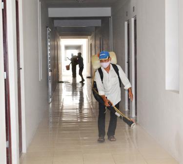 Dịch vụ phun thuốc muỗi tại quận Ba Đình